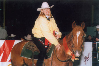 Heather Brown on Lets Talk Later, NCHA Derby finalist